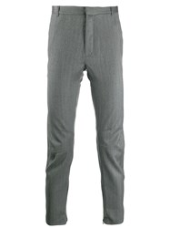 Lanvin Panelled Tailored Trousers Grey