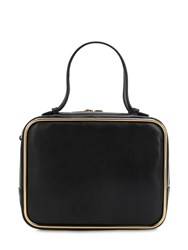 Alexander Wang Large Halo Leather Satchel Bag Black