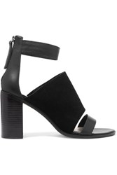 Zimmermann Suede And Leather Sandals Black