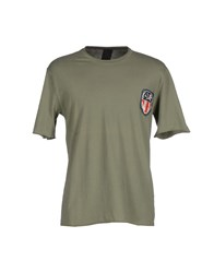 People Topwear T Shirts Men Military Green