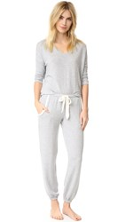 Splendid Cozy Lounge Pullover Set Heather Grey