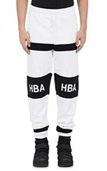 Hood By Air Men's Logo Jogger Pants White