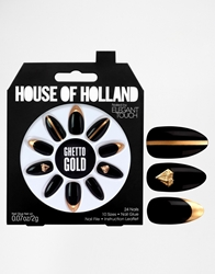 Eylure House Of Holland Nails By Elegant Touch Ghetto Gold Ghettogold