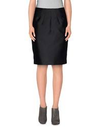 Aquilano Rimondi Skirts Knee Length Skirts Women Black