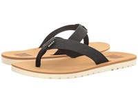 Reef Voyage Tan Black Men's Sandals Multi