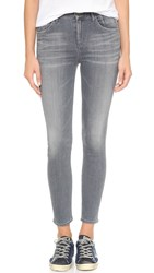Gold Sign Virtual High Rise Skinny Crop Jeans Aspen