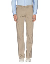 Rifle Trousers Casual Trousers Men Beige
