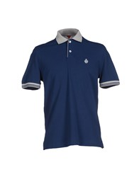 Della Ciana Topwear Polo Shirts Men Dark Blue