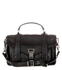 Proenza Schouler Ps1 Tiny Leather Tote Black