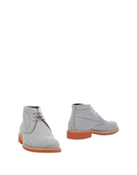 Gold Brothers Ankle Boots Grey