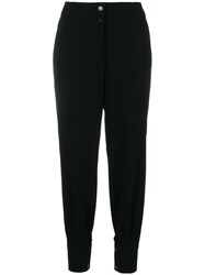 Cambio Tapered Trousers Black