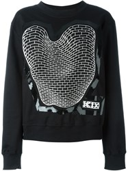 Ktz Brick Print Sweatshirt Black