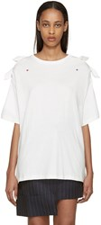 Undercover White Bow T Shirt