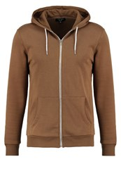New Look Tracksuit Top Camel Light Brown