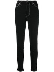 Iro High Waisted Skinny Jeans Black