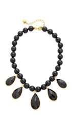 Kate Spade New York True Colors Stone Necklace Black Multi