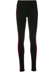 Current Elliott Side Stripe Leggings Black