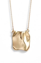 Faris Tag Necklace Bronze