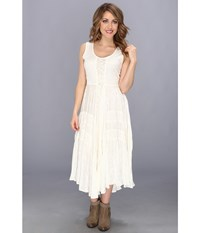 Scully Honey Creek Amelie Dress Ivory Women's Dress White