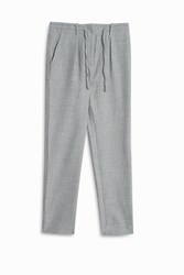 Paul And Joe Sister Pin Stripe Drawstring Trousers Grey