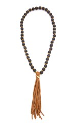 Jonesy Wood Scout Necklace Black