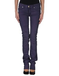 Gianfranco Ferre Gf Ferre' Denim Pants Purple