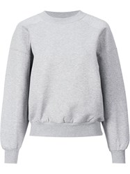 En Route Crew Neck Sweatshirt Grey