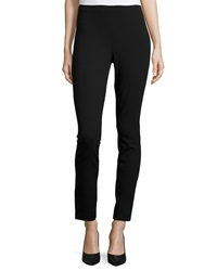 Donna Karan High Waist Cropped Pants Black
