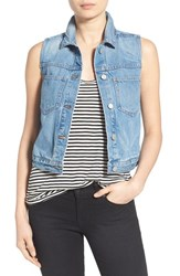 Women's Madewell Chest Pocket Denim Vest