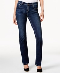 Inc International Concepts Mid Rise Bootcut Jeans Indigo Wash Only At Macy's