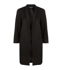 Eileen Fisher Jacquard High Collar Jacket Female Black