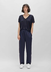 Acne Studios Norwich Face Track Sweatpant Ink Navy