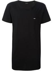 Diesel Scoop Neck T Shirt Black