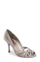 Women's Adrianna Papell 'Fallon' Pump Gunmetal Fabric