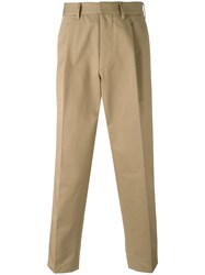 The Gigi Loose Fit Chino Trousers Nude Neutrals