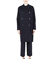 Agnona Long Double Breasted Cashmere Coat