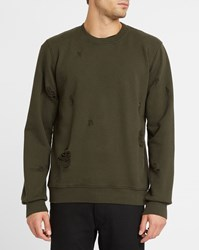 Sandro Black Round Neck Sweatshirt
