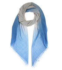 Bottega Veneta Wool Scarf Blue