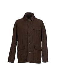 Mcs Marlboro Classics Coats And Jackets Jackets Men Dark Brown