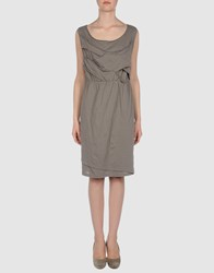 Phard Dresses Short Dresses Women Grey