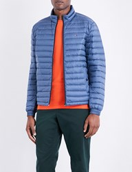 Tommy Hilfiger Down Filled Quilted Shell Jacket Ensign Blue
