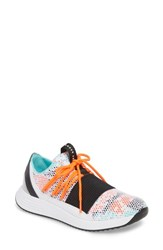 Under Armour Breathe Low Top Sneaker White Neon Coral White