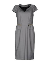 Georges Rech Knee Length Dresses Grey