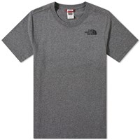The North Face Red Box Tee Grey