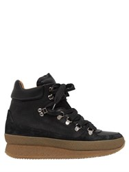 Isabel Marant Etoile 50Mm Brent Suede And Leather Boots