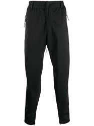 Y 3 Tapered Track Trousers Black