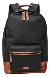 Men's Fossil 'Estate' Backpack Black
