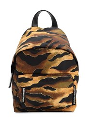 Dsquared Miss Print Nylon Backpack Multicolor