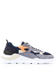 D.A.T.E. Fuga Panelled Low Top Sneakers 60