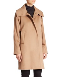 Jane Post Cashmere Jane Coat Camel Navy Black